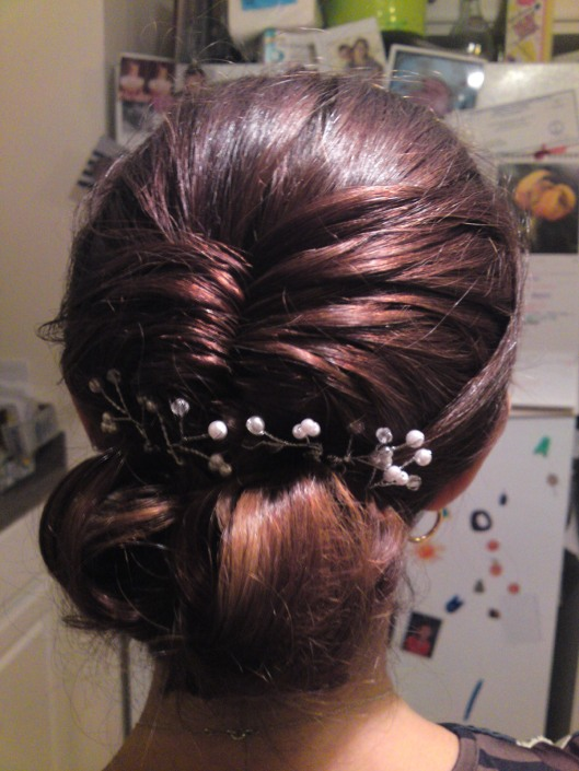 Updo by Heather Reed