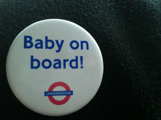 Button courtesy of the Tube
