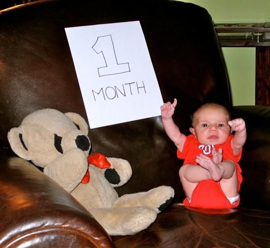Natalie, 1 month