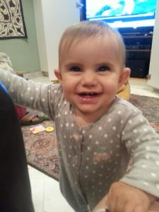 Genevieve, age 9 months